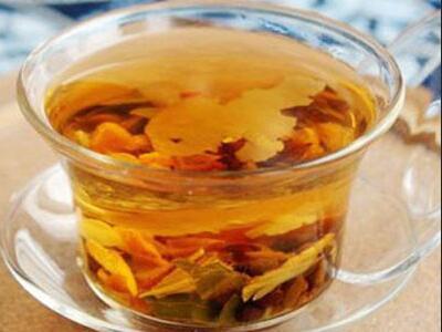 作用    山楂荷叶茶的做法比较简单,只需要十五克山楂,决明子十五克克图片