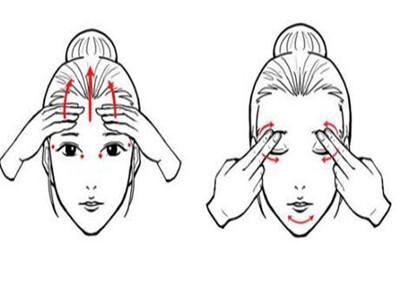 脸部精油按摩步骤图文解说