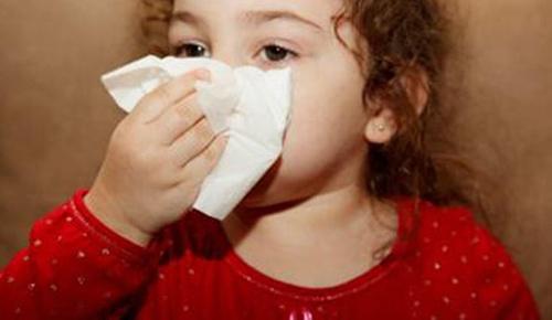宝宝感冒可爱图片