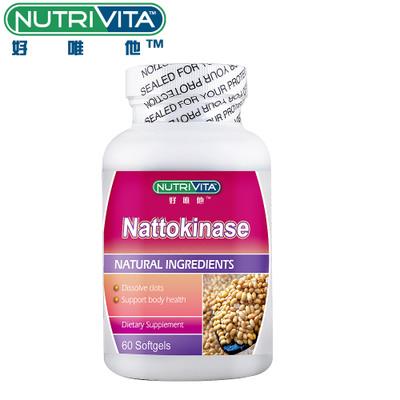 Nutrivita好唯他 纳豆激酶软胶囊 347毫克*60粒产品图片