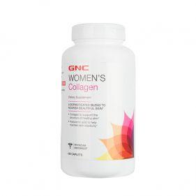 美国 GNC/健安喜 女士水解胶原蛋白营养片 180片*瓶