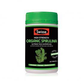 澳洲Swisse 有机螺旋藻片 200片*瓶