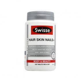 澳洲Swisse 活力胶原蛋白片 100片*瓶  护发护肤护甲片