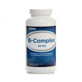 美国 GNC/健安喜 复合维生素B族片 50mg*250粒