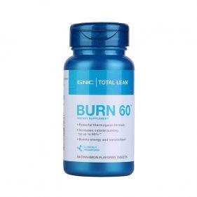 美国 GNC/健安喜 Burn60 瓜拉纳燃脂复合片 60粒*瓶
