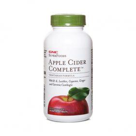 美国 GNC/健安喜 苹果醋纤体片加强型 1.13g*90片