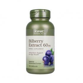 美国 GNC/健安喜 蓝莓精华胶囊 60mg*100粒
