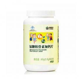 利发国际 氨糖软骨素加钙片 1.0g*60片