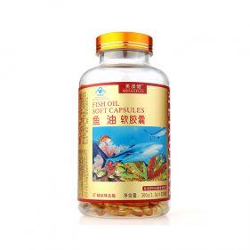 美澳健 鱼油软胶囊 1.0g*300粒