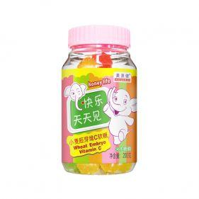 美澳健 小麦胚芽油维生素C软糖 200g*罐