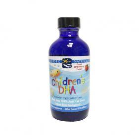 美国 Nordic Naturals/挪威小鱼 儿童液体DHA草莓味 119ml*瓶