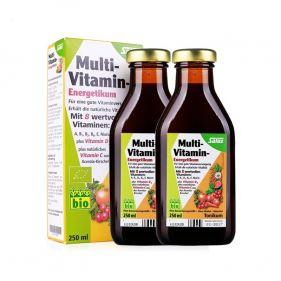 德国 Salus/莎露斯 有机液态综合维生素补充液 250ml*瓶