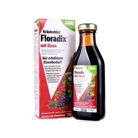 德国 铁元salus Floradix 250ml*瓶