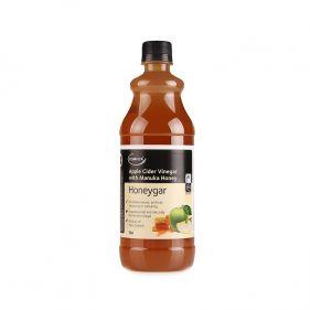 新西兰 comvita/康维他 两倍浓缩天然蜂蜜苹果醋饮料 750ml*瓶