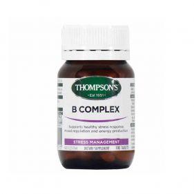 新西兰 Thompson's/汤普森 天然维生素B 100片*瓶