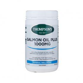 新西兰 Thompson's/汤普森 深海三文鱼油胶囊 300粒*瓶