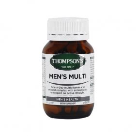 新西兰 Thompson's/汤普森 男性复合维生素 60片*瓶