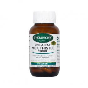 2瓶装| 新西兰 Thompson's/汤普森 奶蓟草护肝宝  35000mg*60粒