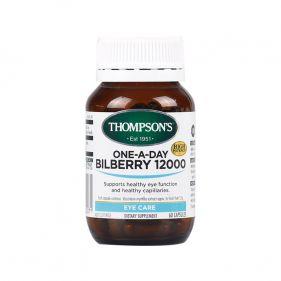 新西兰 Thompson's/汤普森 蓝莓越橘精华胶囊 60粒*瓶