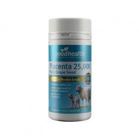新西兰 goodhealth/好健康 羊胎素葡萄籽精华胶囊 25000mg*60粒