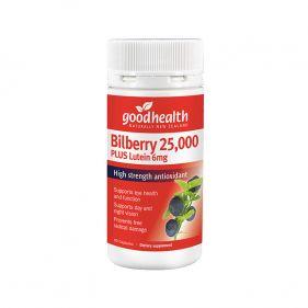 新西兰 goodhealth/好健康 蓝莓越橘叶黄素胶囊 60粒*瓶