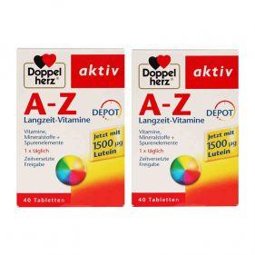 2盒装| 德国 Doppelherz/双心 复合维生素ABCD矿物质营养 40粒*盒
