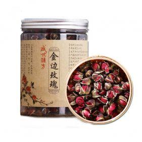 利发国际 金边玫瑰花茶 100g*瓶