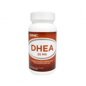 美国 GNC/健安喜 DHEA缓释青春素 提高受孕几率  25mg*90粒(胶囊片剂随机发)