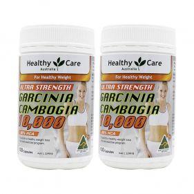 2瓶装| 澳洲 Healthy Care 藤黄果精华瘦身胶囊 100粒*瓶