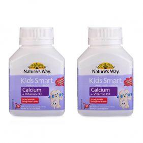 2瓶装| 澳洲 Nature's Way/佳思敏 儿童钙+D胶囊 50粒*瓶