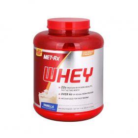 美国 MET-Rx/美瑞克斯 乳清蛋白增肌粉重5磅 2260g*瓶