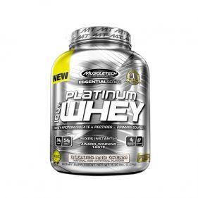 美国 MUSCLETECH/肌肉科技 白金乳清蛋白粉重5磅 2270g*瓶