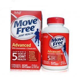 美国Schiff Move Free 氨基葡萄糖维骨力 170粒*瓶