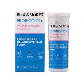 澳洲 Blackmores/澳佳宝 益生菌+女性生理平衡胶囊 30粒*瓶