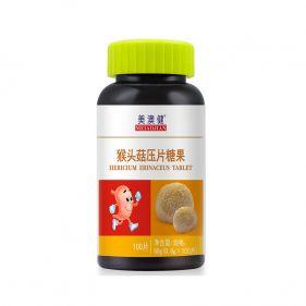 美澳健 猴头菇压片糖果 0.6g*100片