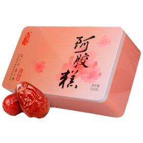 福尚康 东阿阿胶糕红枣型 500g*盒