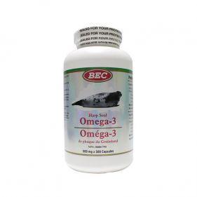 加拿大 BEC海豹油 北极海豹油  500毫克*500粒