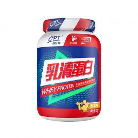 康比特 乳清蛋白粉 750g*瓶 健身增肌粉男女性成人运动正品
