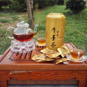 2瓶装| 益尔康 野生黄金牛蒡茶 250克*2罐 礼盒装