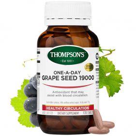 新西兰 Thompson's/汤普森 葡萄籽精华 120粒*瓶