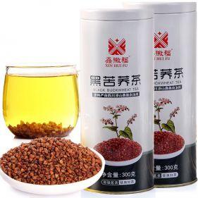 云南特产 高原苦荞茶 300g*罐