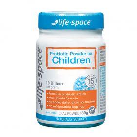 澳洲 life space儿童广谱益生菌60g*瓶  3~12岁大龄宝宝