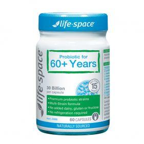 澳洲 life space 老人益生菌胶囊 60粒*瓶  60岁以上老人