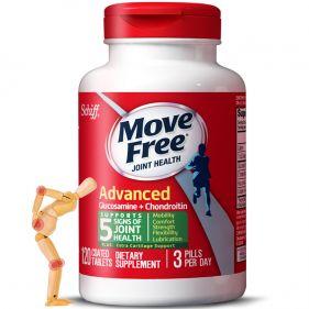 美国Schiff Move Free 氨基葡萄糖软骨素 绿瓶120粒