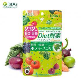 日本进口 ISDG DIET燃脂酵素 果蔬酵片 120粒/袋
