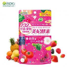 日本进口 ISDG美妃酵素 120粒/袋  232种果蔬发酵 护肤酵素