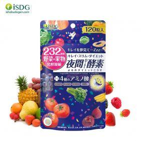 日本进口 ISDG 夜间酵素 120粒/袋 酵素酶