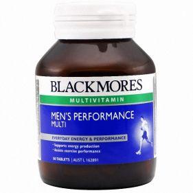 澳洲 Blackmores/澳佳宝 男士活力复合维生素 50片*瓶