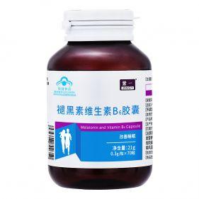 紫一 褪黑素维生素B6胶囊 0.3g*70粒