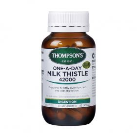 2瓶装| 新西兰 Thompson's/汤普森 奶蓟草护肝宝  42000mg*60粒